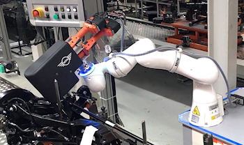 Robotic and cobot bolt fixing solutions UK