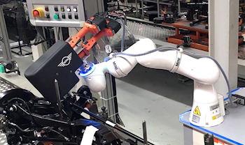 Robot Bolt Fixing