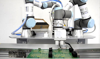 Robot electronic assembly