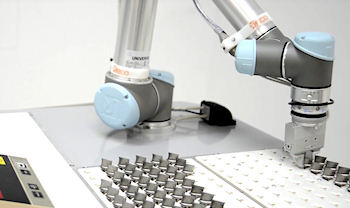 Robotic UK collaborative robot automation systems and solutions, pick and place automation