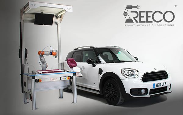 Reeco MINI robotic riveting