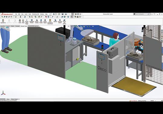 cobot design solidworks concept automation