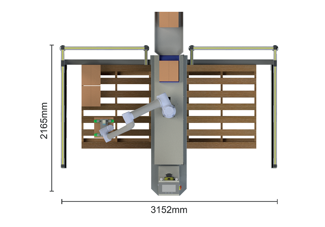 Palletizer Footprint