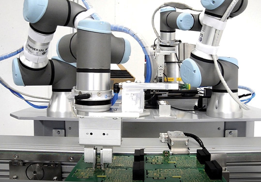 Robotic Electronic Assembly
