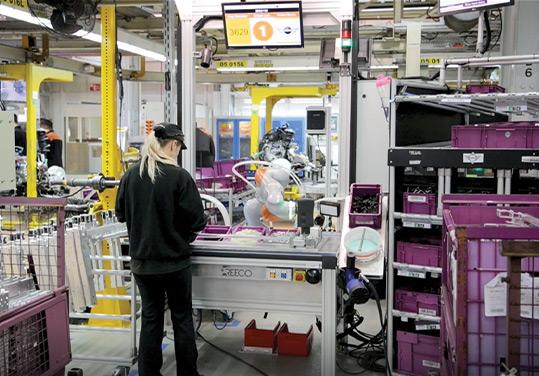 Human Robot Collaboration - BMW