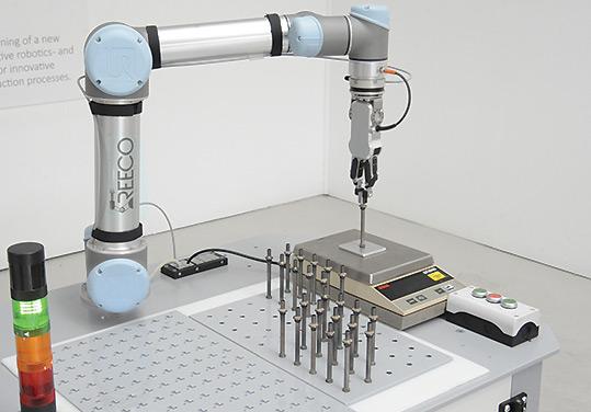Robotic Material Handling - Quality Testing